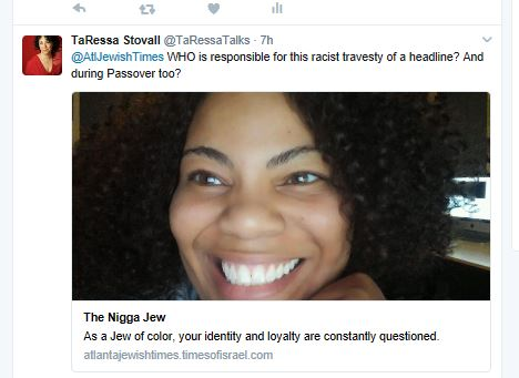 Atlanta jewish times my tweet